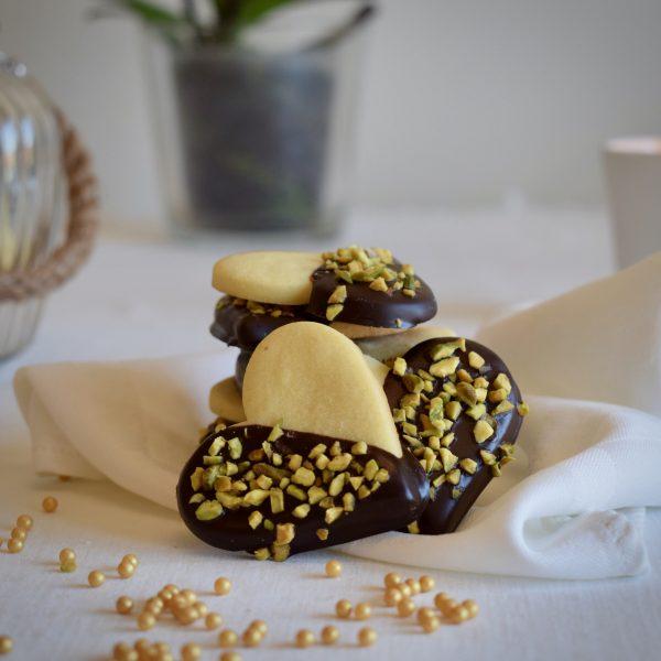 cioccolato e granella pistacchio