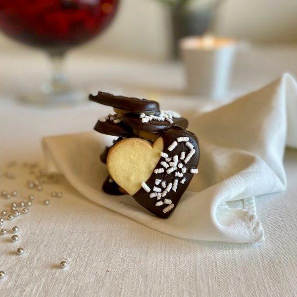 cioccolato e granella zucchero